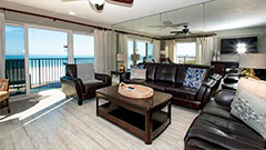 Surfside 404 is a great beach vacation rental with 3 bedrooms and 2 bathrooms.