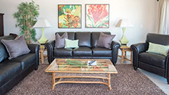 You'll be very comfortable in this 3 bed 2 bath 5th floor condo rental.
