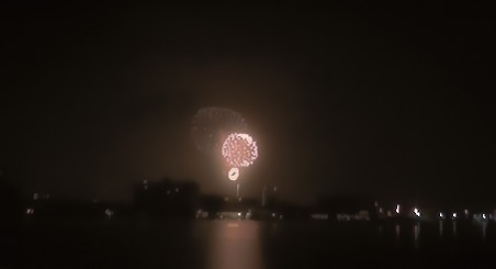 Clearwater Beach July 4th Fireworks