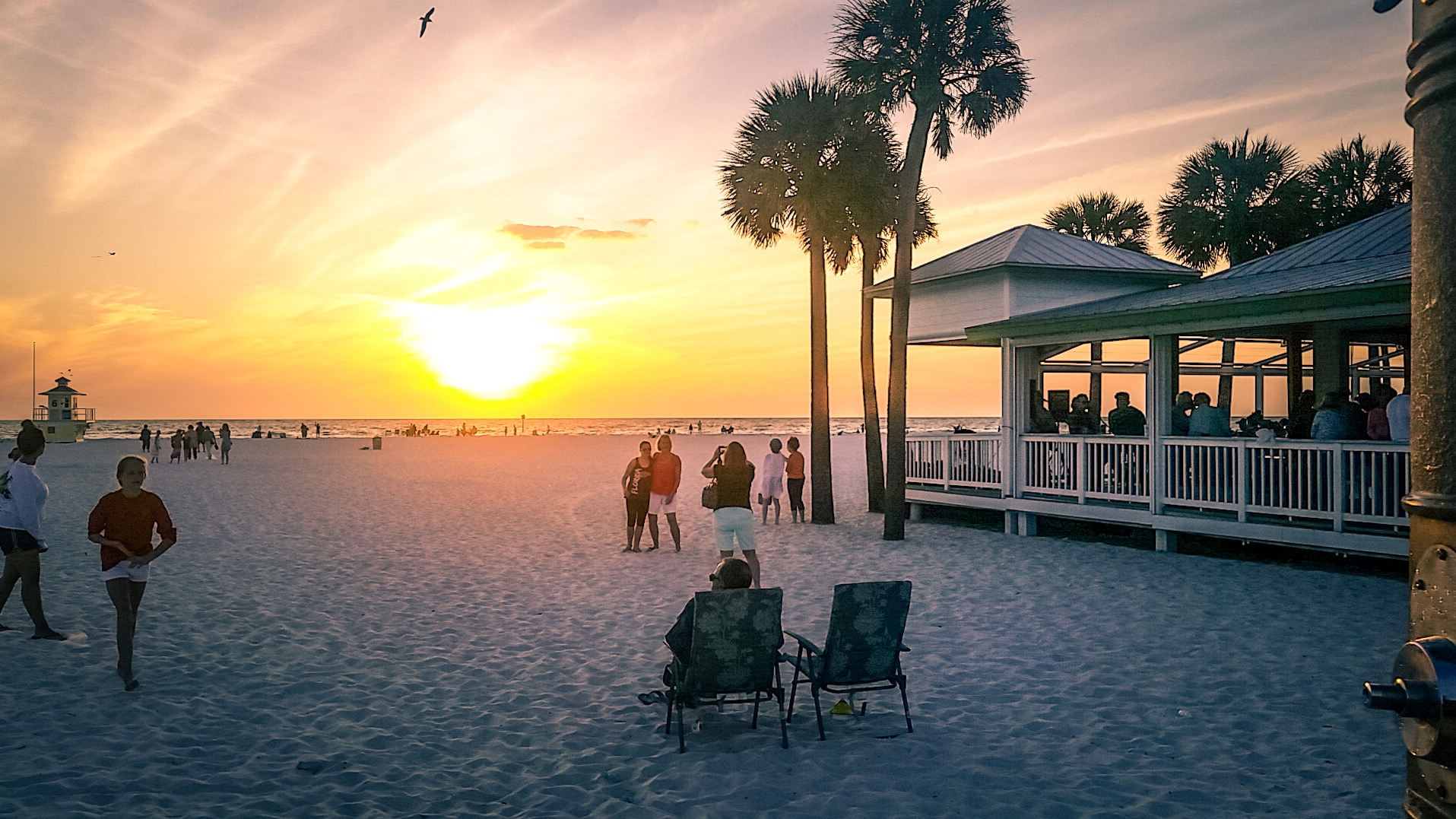 Clearwater Beach Views - Palm Pavilion Beachside Grill & Bar
