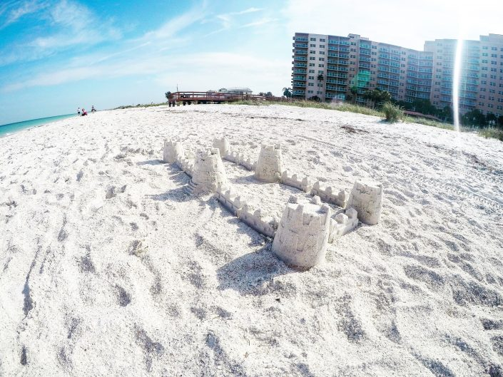 How to Build a Sandcastle - Clearwater Beach