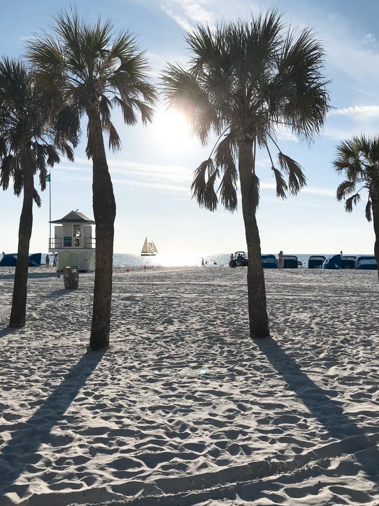 Clearwater Beach Christmas 2019