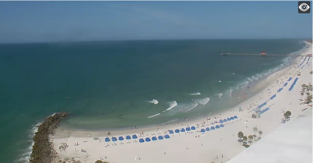 Opal Sands Clearwater Beach Webcam