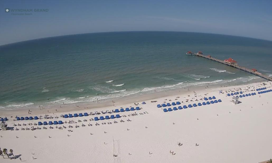 Wyndham Grand Clearwater Webcam