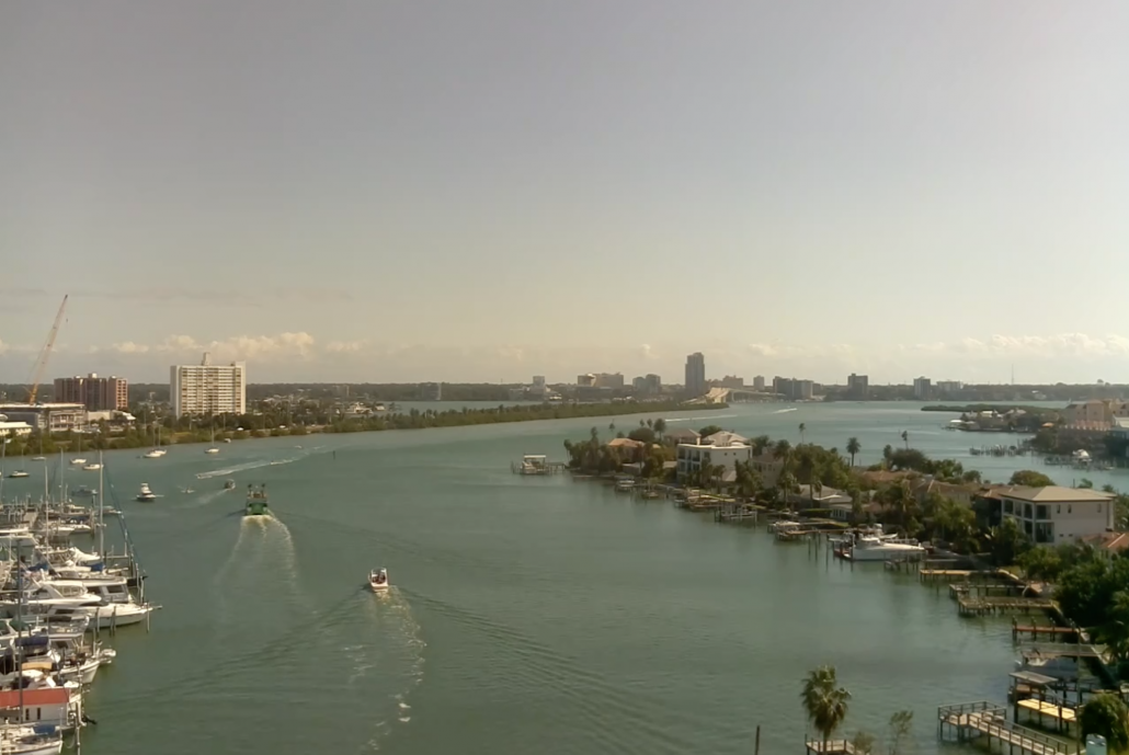 Clearwater Beach Marina Webcam