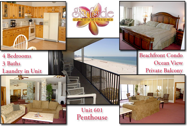 Surfside Unit 601 Penthouse
