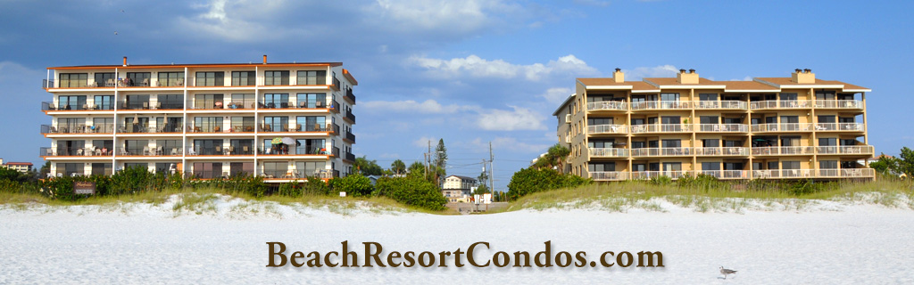 Clearwater Beach Rentals with B&W Management at Surfside Condos and The Villas of Clearwater Beach
