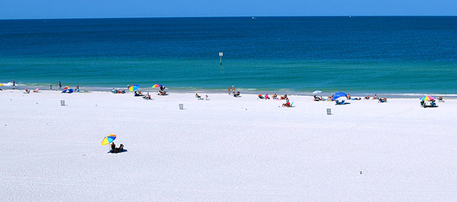 Clearwater Beach Rentals View