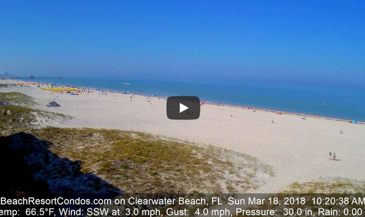 Clearwater Beach Spring Break from Surfside Condos