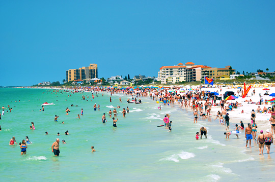 Beach South Of Clearwater Fl